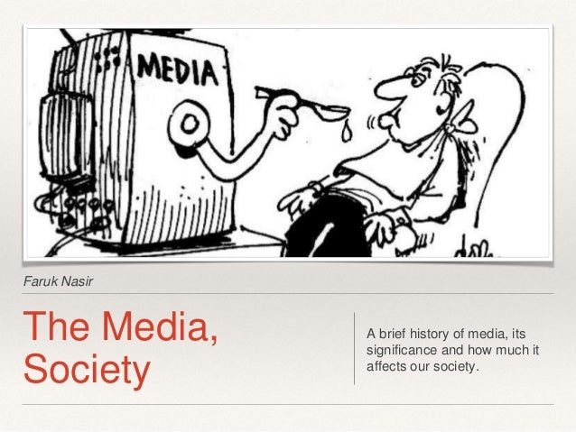 Effects of Media Violence on Society
