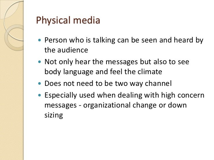 types of communication media pdf