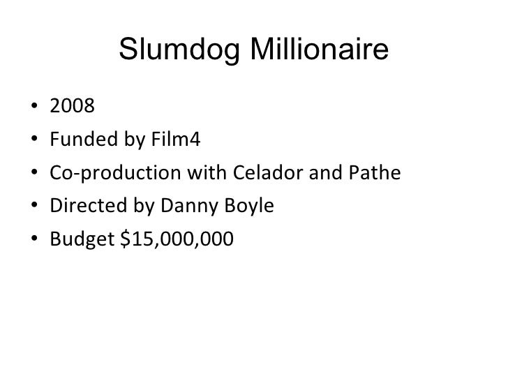 slumdog millionaire cultural aspects Crossing cultures in 'slumdog millionaire' the latest film from trainspotting director danny an age when cross-cultural impulses inflect everything.