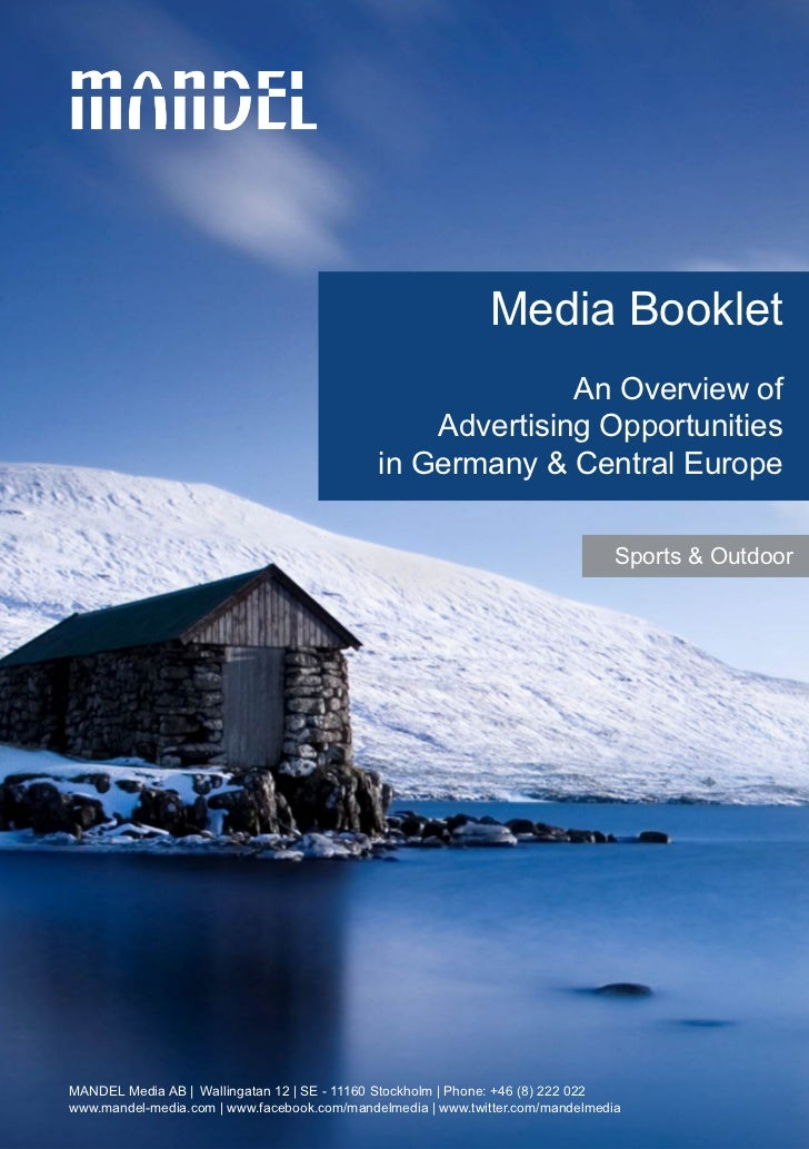 Media Booklet                                                           An Overview of                                    ...