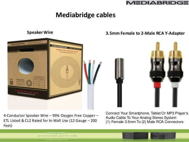 Mediabridge cables at mediabridgeproducts com
