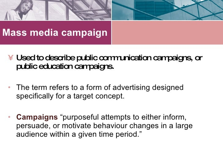 Health campaigns to use to explain