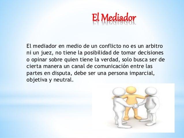 CONOZCAMOS UN POCO MÁS LA MEDIACIÓN Slide 3
