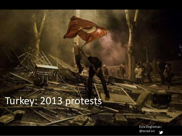 Esra Doğramacı @esrad on Turkey: 2013 protests