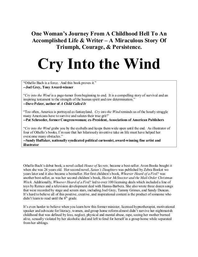 On the Wind: One Womans Journey Through Life