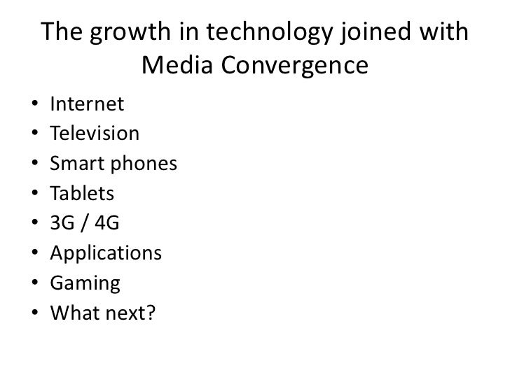 How Has Media Convergence Affected Everyday Life What Is Media