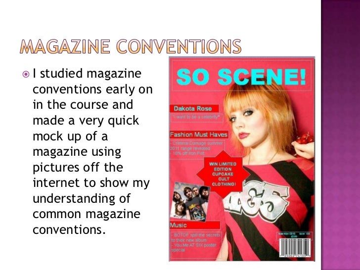 media coursework evaluation magazine In my magazine, i used a typical layout used in various teen magazines aimed at girls such as (we love pop, top of the pops), to allow the content & images be.