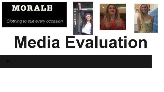 Media Evaluation jsjC