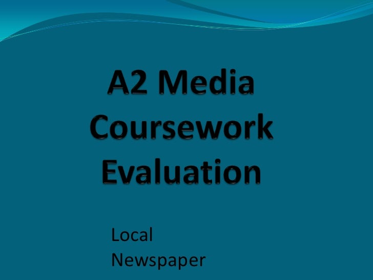 Evaluation coursework