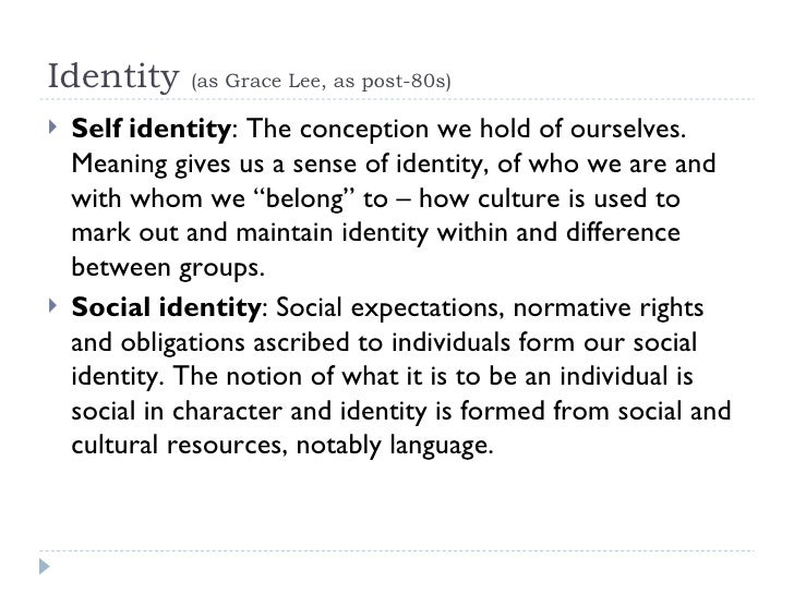 """self identity shaped by traditions Does culture shape our personal identity  a person's identity is shaped by his/her culture,  person is a """"being"""" that has self awareness, is ."""