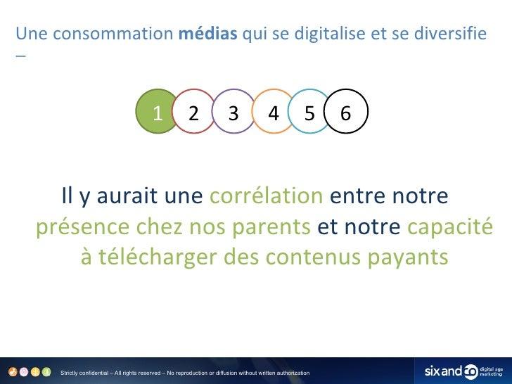 Une consommation  médias  qui se digitalise et se diversifie <ul><li>Il y aurait une  corrélation  entre notre  présence c...
