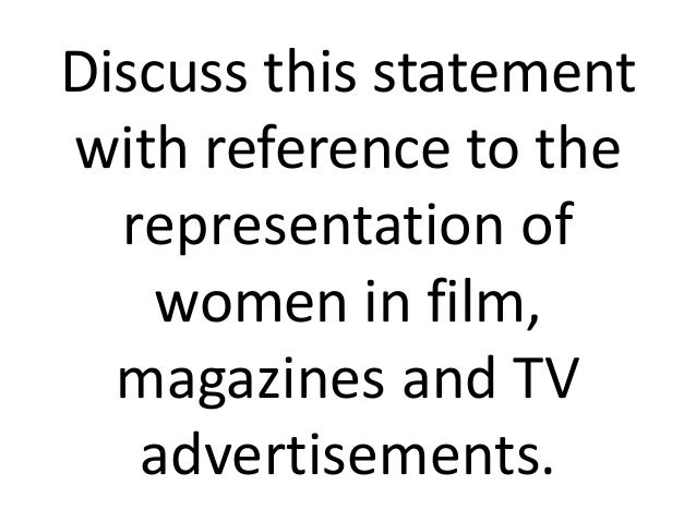 Women: Representations in Advertising