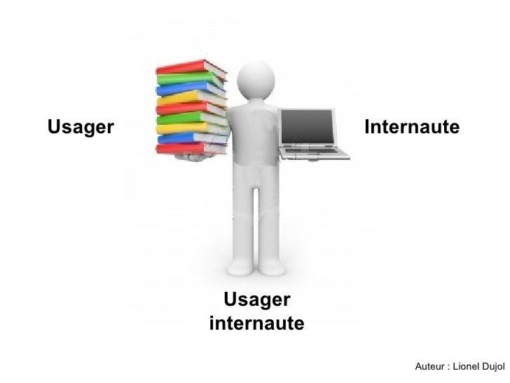 Usager Usager internaute Internaute Auteur : Lionel Dujol