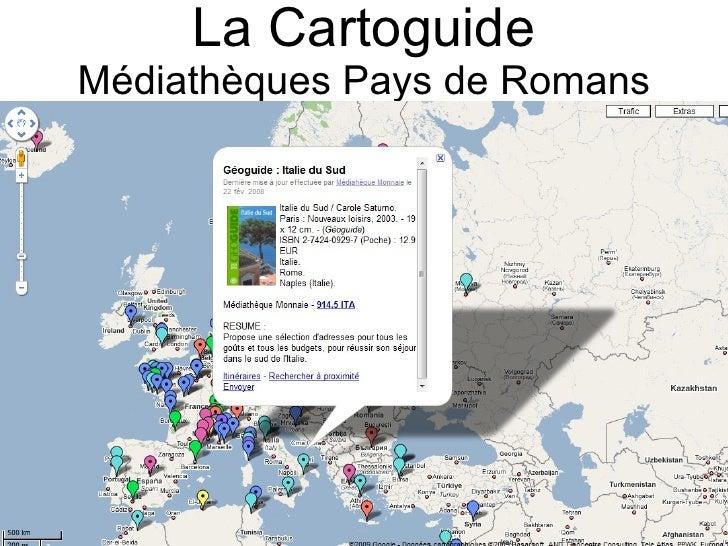 La Cartoguide Médiathèques Pays de Romans