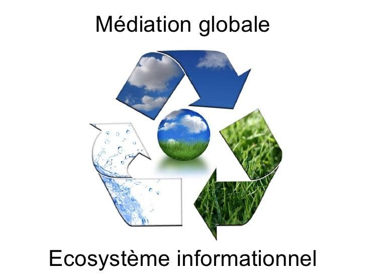 Ecosystème informationnel Médiation globale