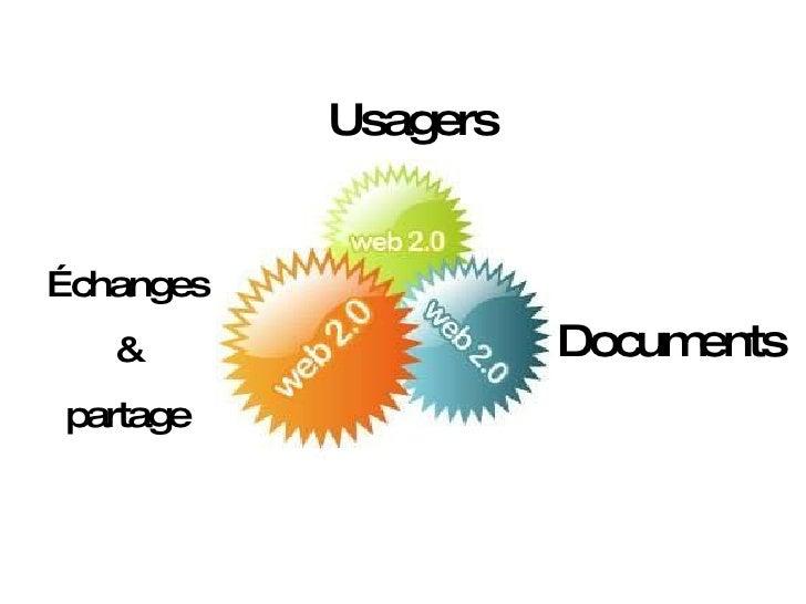 Usagers Échanges & partage Documents