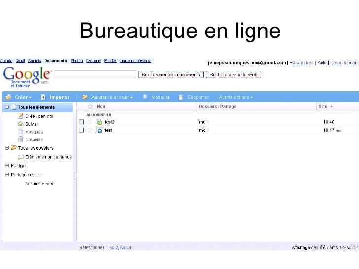 Bureautique en ligne