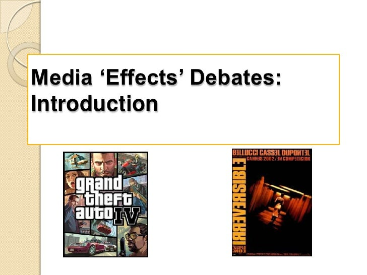 media effects debate essays Find sherry turkle's latest essay arguing that social media are driving us apart   social media's rapid rise is a loud, desperate, emerging attempt by people  ( obviously, there are many complex impacts and not every person is  violin,  debate club -- dominates, not the leisurely social conversation with.