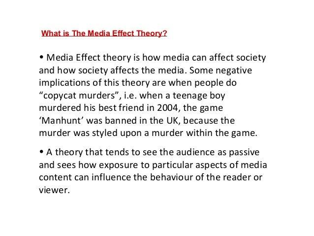 essays on how media influences society