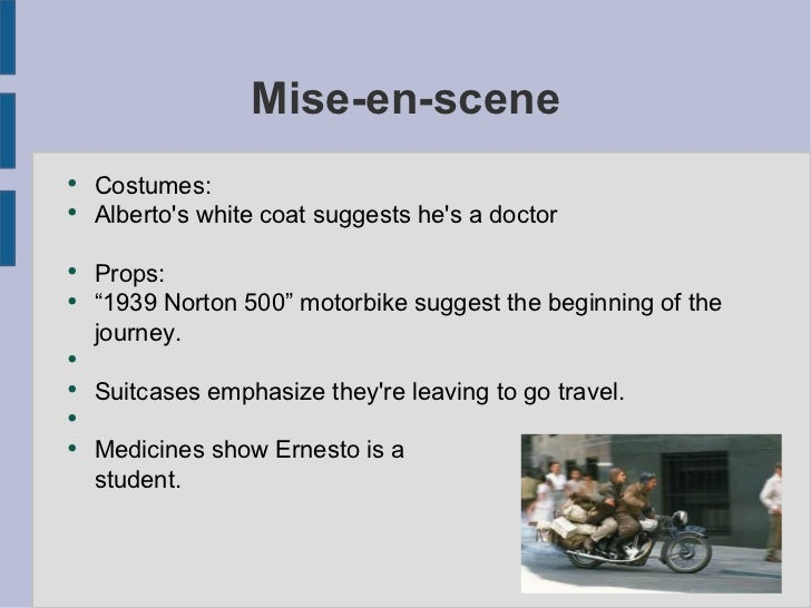 media essay motorcycle diaries