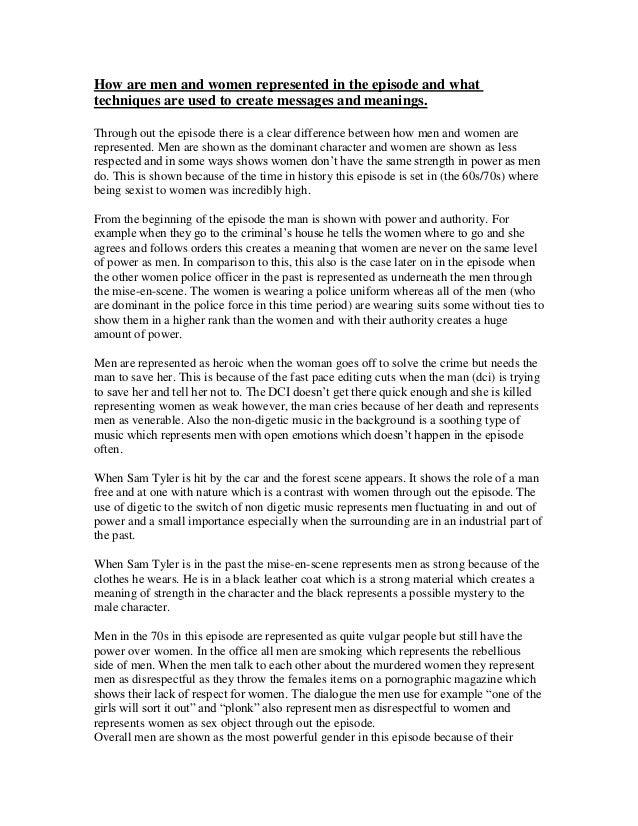Role of women in media essay