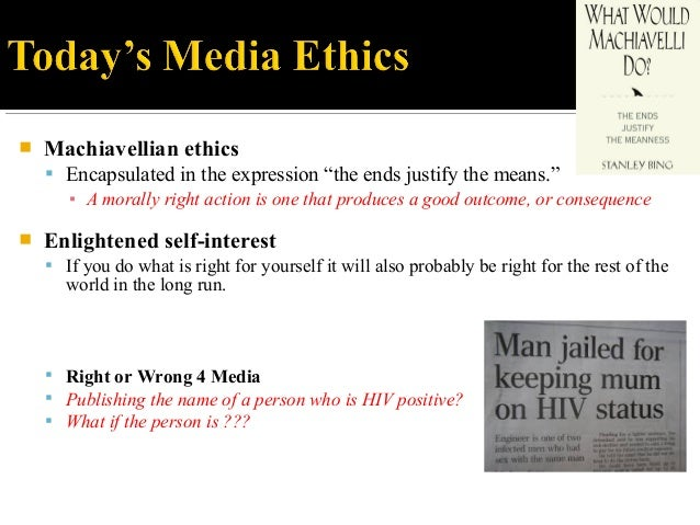 ethics in the media You can download a pdf of the meaa journalist code of ethics by clicking complaints about non-meaa members should be taken up with the appropriate media.