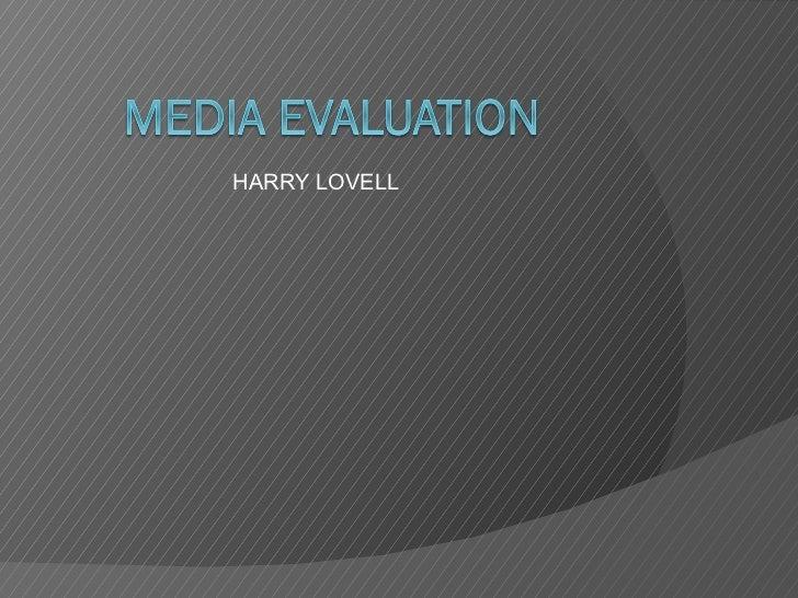 HARRY LOVELL