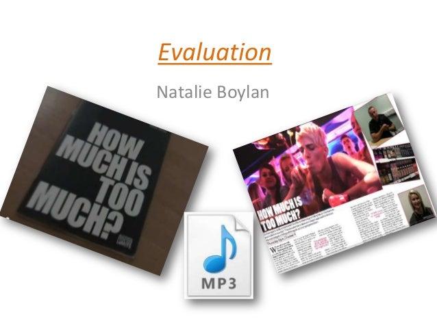 EvaluationNatalie Boylan