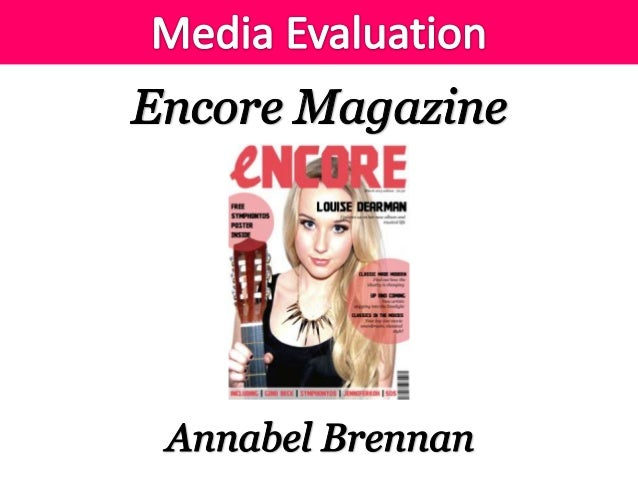 My music magazine uses conventions of other classical music magazines and also more modern 'up to date' music magazines. I...