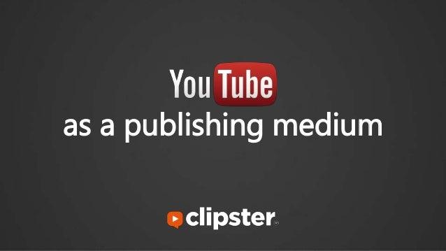 as a publishing medium
