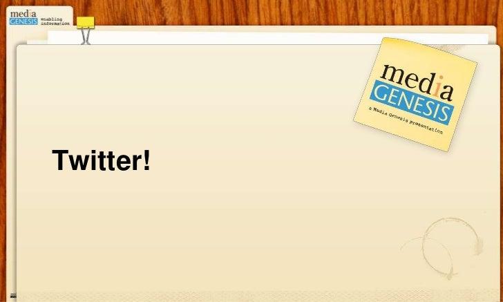 Twitter!<br />