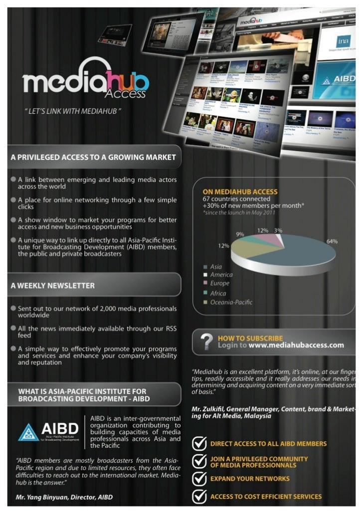Mediahub Presentation
