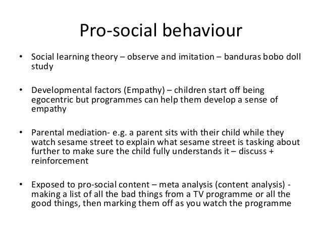 Research Matters / Promoting Adolescents' Prosocial Behavior