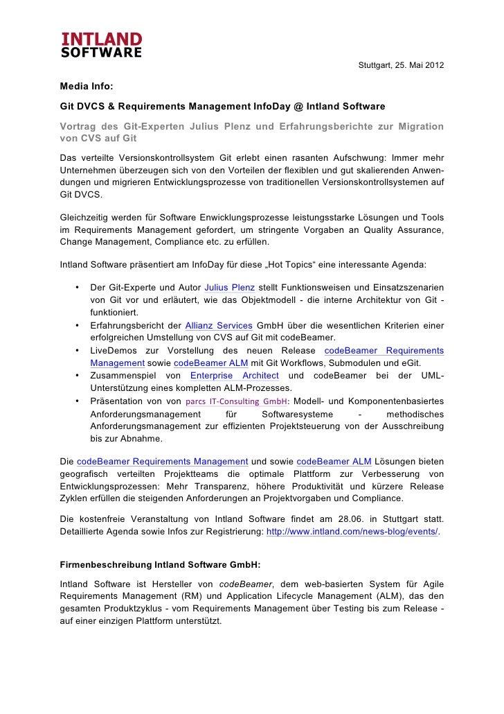 Stuttgart, 25. Mai 2012Media Info:Git DVCS &...