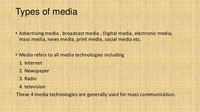 electronic mass media Here is the best resource for homework help with com 251 : introduction to the electronic mass media at purdue university find com251 study guides, notes,.