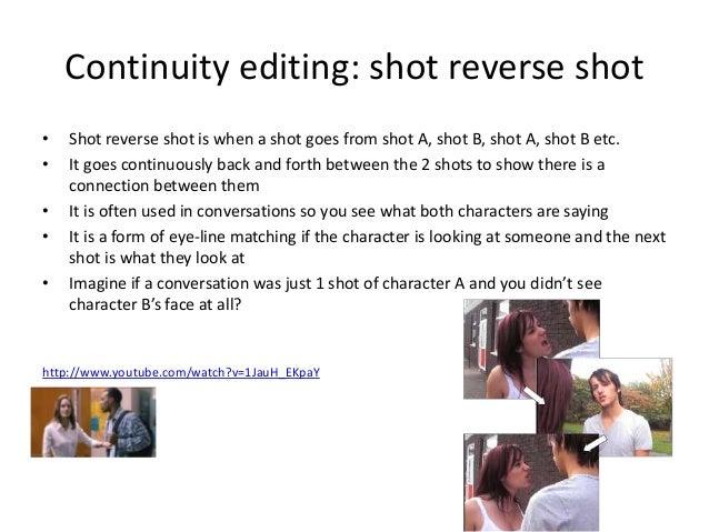 how to avoid shot reverse shot