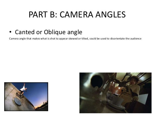 Media key terms revision slides shots angles movement ...