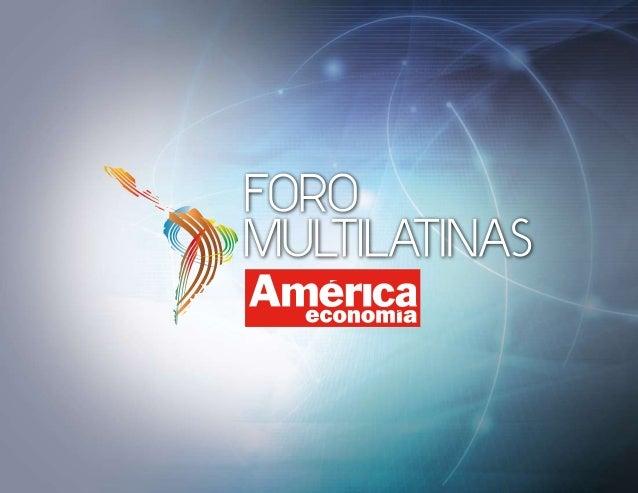 AMÉRICAECONOMÍA Con 27 años de experiencia AméricaEconomía Media Group es la principal fuente de información y análisis de...