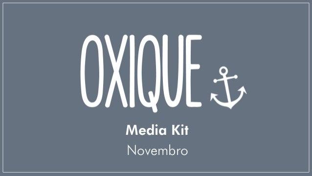 Media KitNovembro