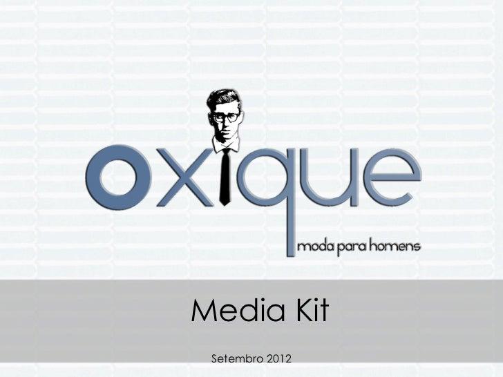 Media Kit Setembro 2012