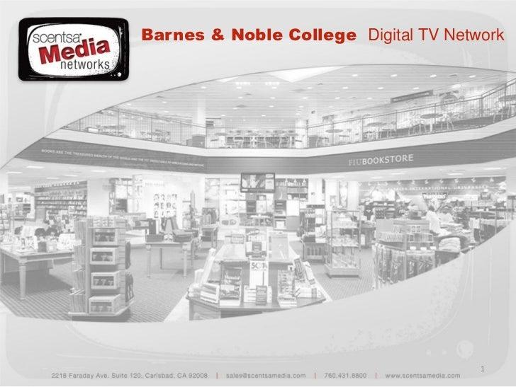 Barnes & Noble College Digital TV Network                                      1