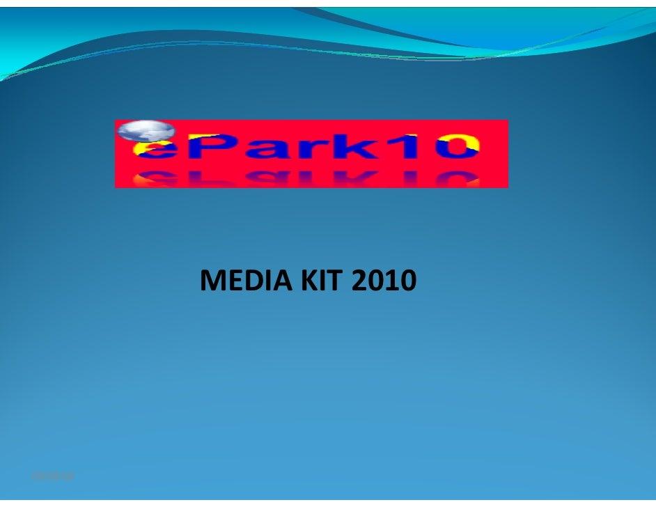 Media Kit 2010
