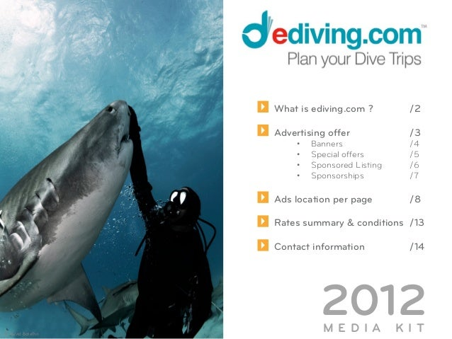 What is ediving.com ?          /2                            Advertising offer              /3                            ...