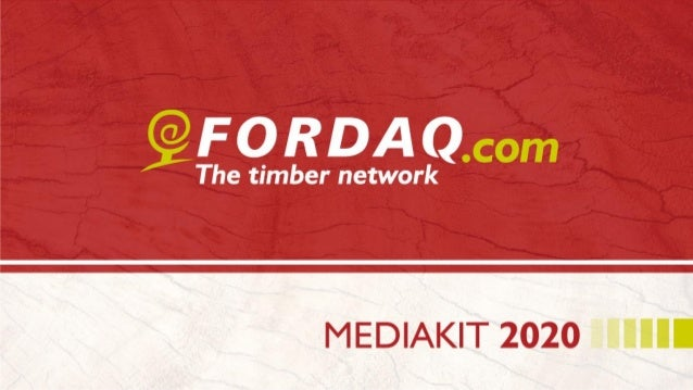 ABOUT US Fordaq SA owns a leading online B2B marketplace for wood products. It connects buyers with suppliers from over 19...