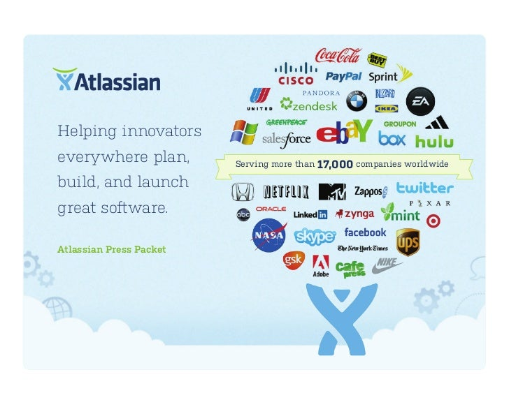 Helping innovatorseverywhere plan,         Serving more than 17,000 companies worldwidebuild, and launchgreat software.Atl...