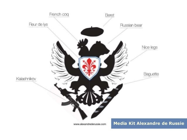Media Kit Alexandre de Russie