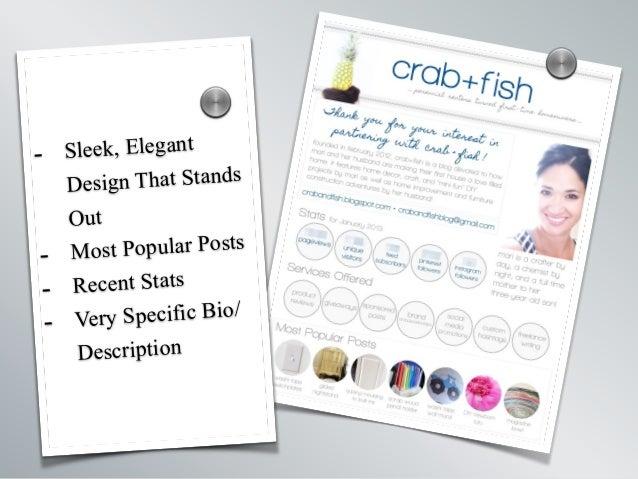 - Sleek, Elegant Design That Stands Out - Most Popular Posts - Recent Stats - Very Specific Bio/ Description s s