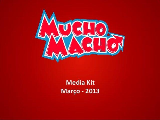 Media KitMarço - 2013