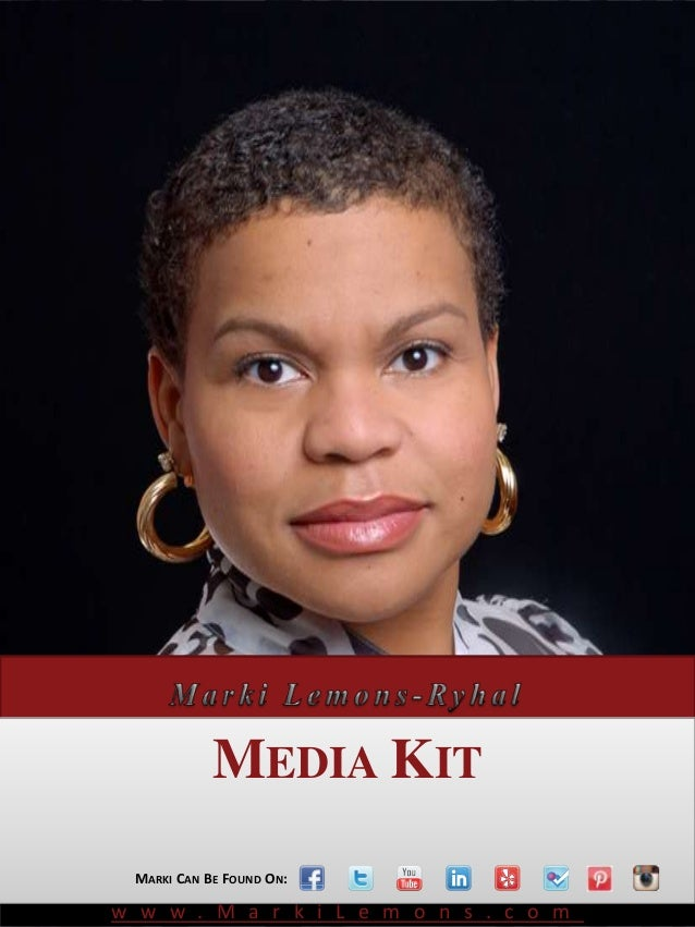 Award Winning Social Media Speaker            MEDIA KIT MARKI CAN BE FOUND ON:w w w . M a r k i L e m o n s . c o m