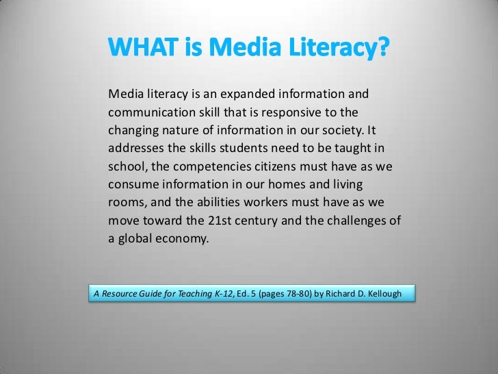 Literacy in multimedia America : integrating media education across the curriculum